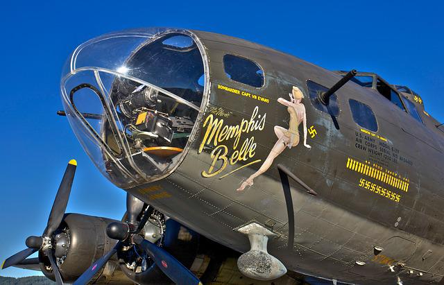 Memphis Bell, Plane, Wwii, Airplane, History, Propeller