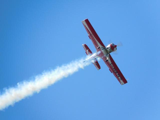 Plane, Airplane, Wake, Sky, Acrobatic