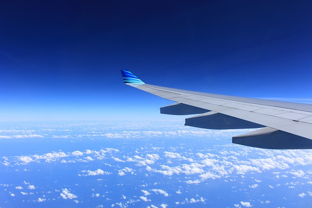 Wing, Plane, Flying, Airplane, Sky, Airplanes, Clouds