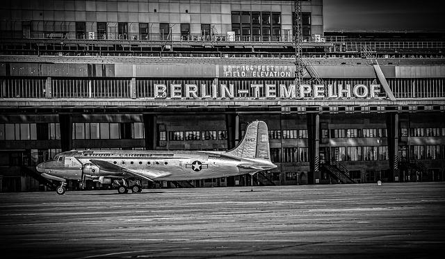 Aircraft, Flyer, Airport, Candy Bomber, Aviation