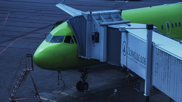 Airport, Domodedovo, S7 Airline, S7 Airlines, Moscow