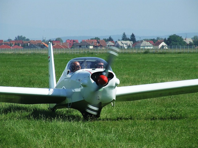 Light Aircraft, Flight, Airport, Miskolc Hungary