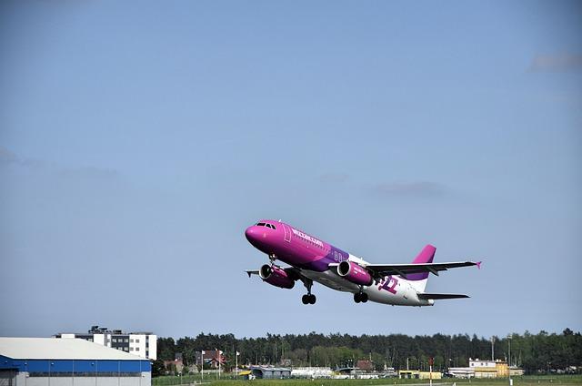 Aircraft, Airport, Gdańsk