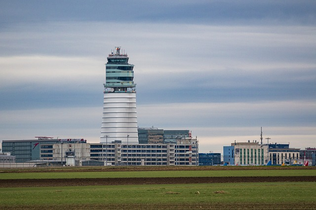 Airport, Vienna, Schwechat, Fly, Tower, Control Tower