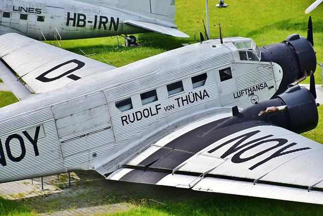 Vintage Aircraft, Airshow, Old, Vintage, Aviation