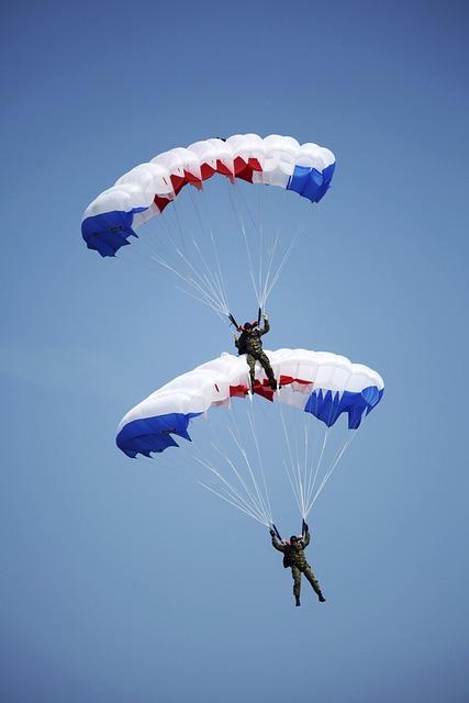 Pair, Paragliding, Airshows, Sliač, Slovakia