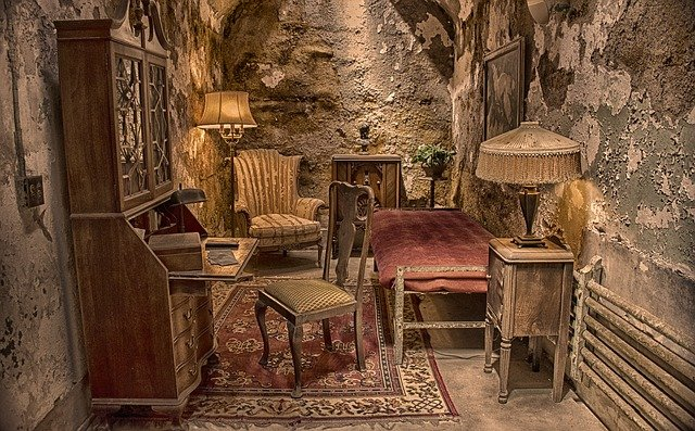 Eastern State Penitentiary, Al Capone, Cell
