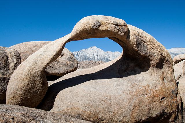 Alabama Hills, Usa, Arch, Arches, Mountains