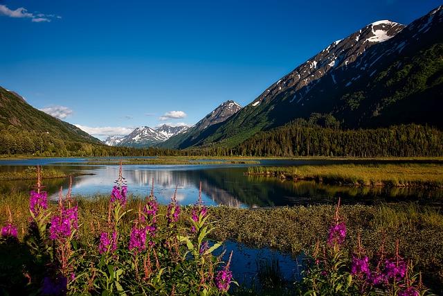 Chugach National Forest, Alaska, Landscape, Scenic