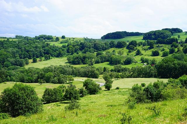 Swabian Alb, Rand Ecker Maar, Alb, Landscape, Idyllic