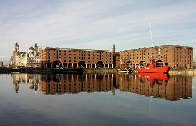 Liverpool, Boat, Dock, Albert Dock, Water, England