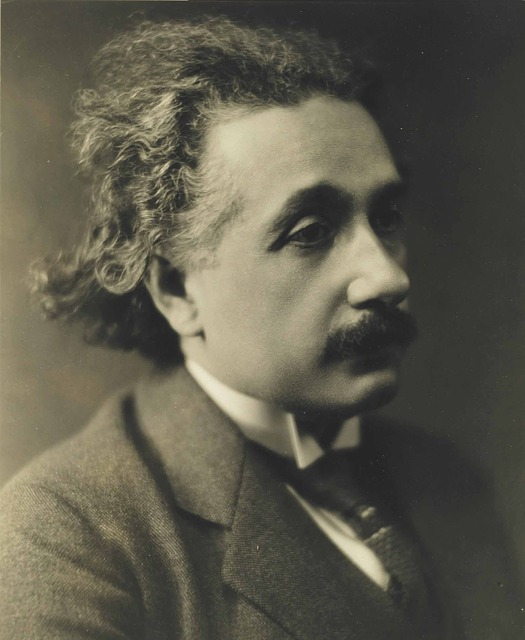 Albert Einstein, 1921, Sad Look, Portrait