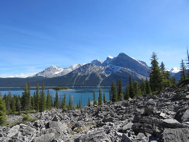 Upper Kananaskis Lake, Rocky Mountains, Alberta, Canada