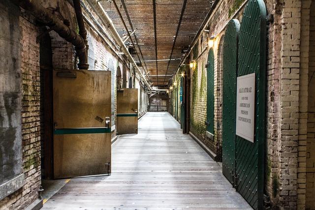Alcatraz, Prison, San Francisco, Walk, Raw