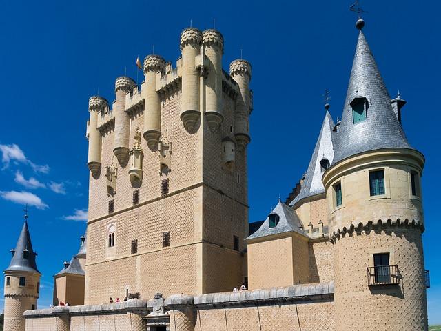 Castle, Alcazar, Palace, Architecture, Fortress