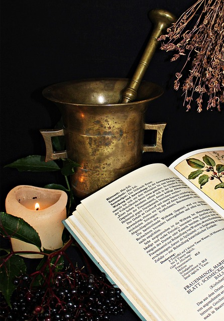 Alchemy, Medical, Naturopathy, Heal, Bless You, Mortar