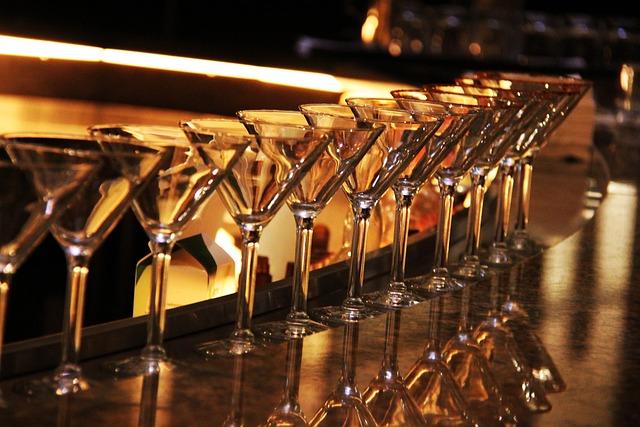 Martini Glass, Wine Glass, Bar, Alcohol, Liquor