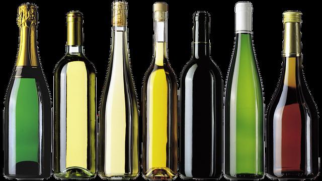 Bottles, Alcohol, Champagne, Wine, Sparkling Wine