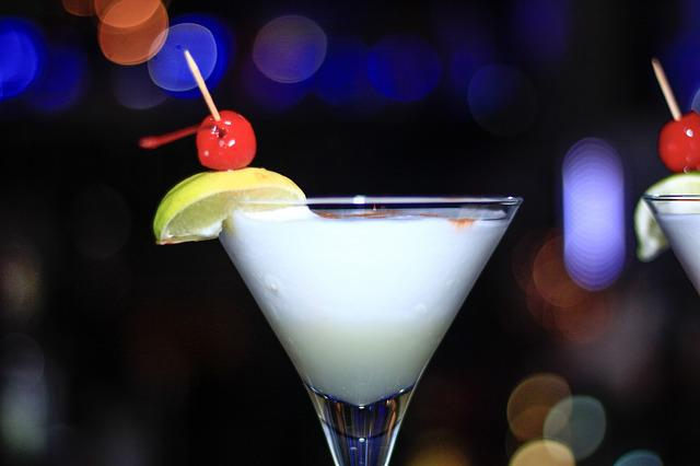 Cocktail, Cup, Night, Alcohol, Cold, Food, Beverage