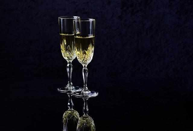 Wine, Glass, Alcohol, Celebrate, Champagne, Drink