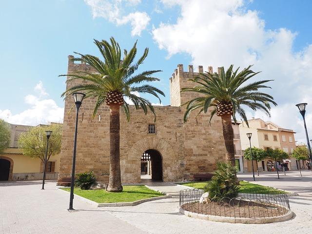 City Gate, Porta Del Moll, Porta De Xara, Alcúdia