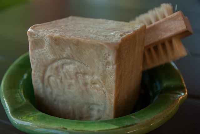 Aleppo Soap, Toilet, Brush