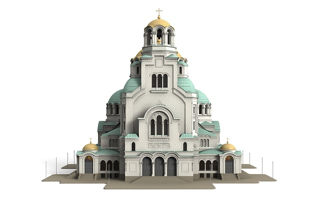 Alexander, Nevsky, Cathedral, Architecture, Building