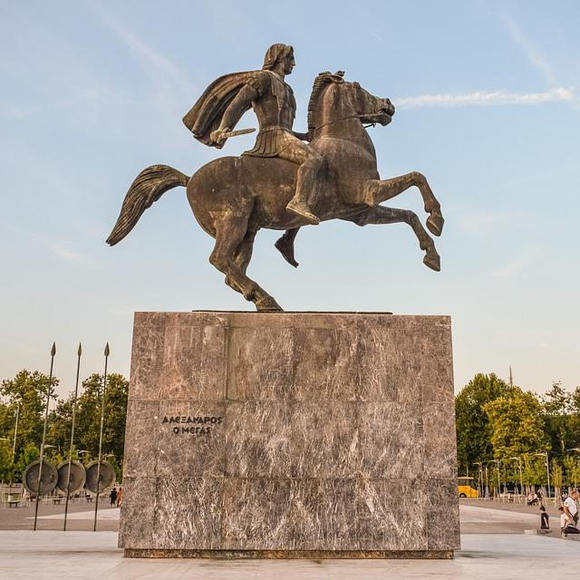 Greece, Thessaloniki, Alexander The Great, Emperor
