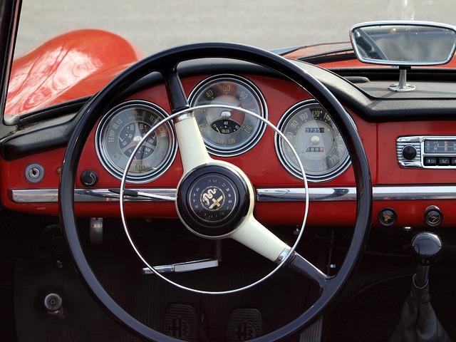 Alfa Romeo Giulietta, Spider, Car, Steering Wheel