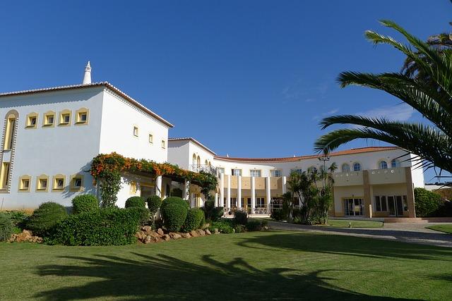 Sun, Hotel, Algarve, Luz Bay