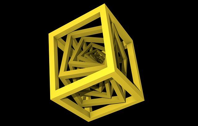 Cube, Math, Geometry, 3d, Frame, Algebra, Formula