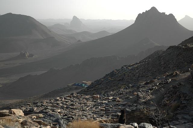 Algeria, Hoggar, Assekrem, Volcano, Erosion, Desert