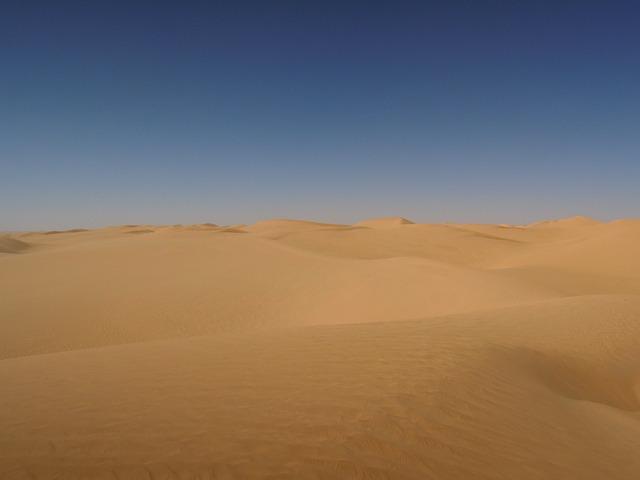 Desert, Sand, Algeria, Sahara