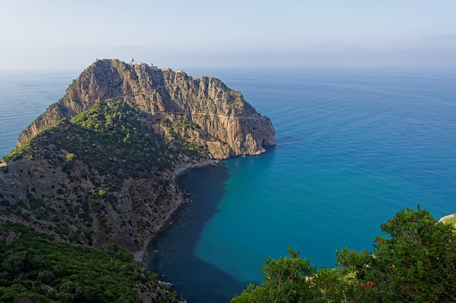 Bejaia, Algerie, Mediterranean, Blue, Sea, Water, Bay