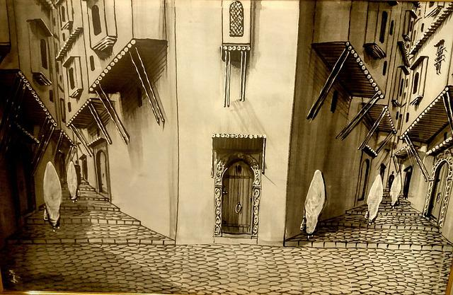 City, Algiers, Arabic