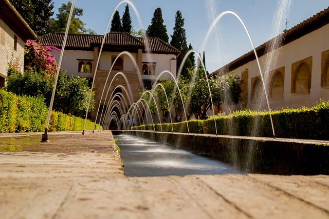 Generalife, Granada, Architecture, Alhambra, Spain