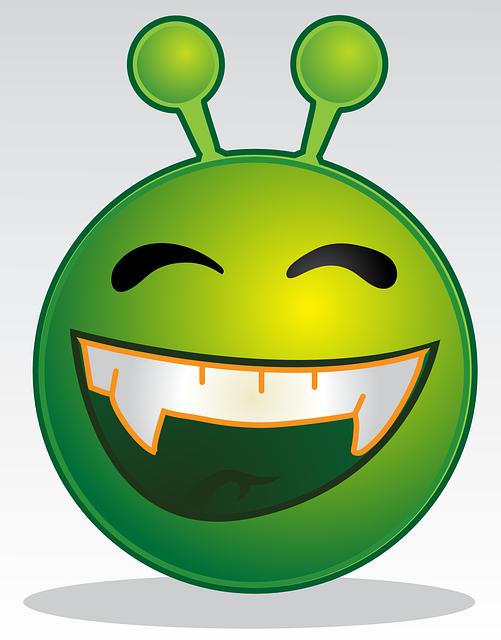 Alien, Smiley, Monster, Design, Symbol, Character, Icon