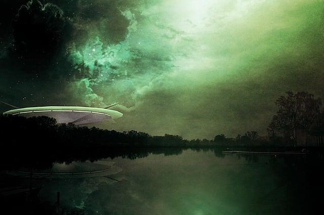 Science Fiction, Alien, Futuristic, Ufo, Cover