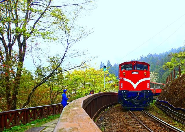 Alishan, Train, Landscape