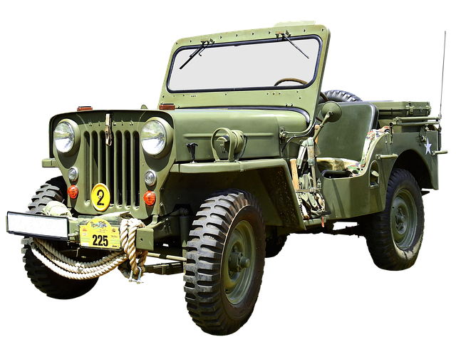 Willys Jeep Mb, All Terrain Vehicle, Army