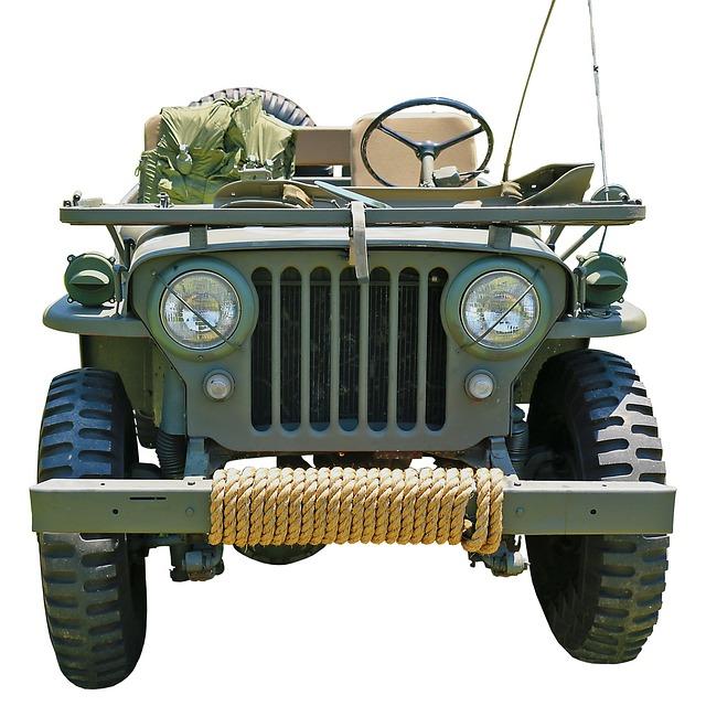 Jeep, Military, All Wheel Drive, All Terrain Vehicle