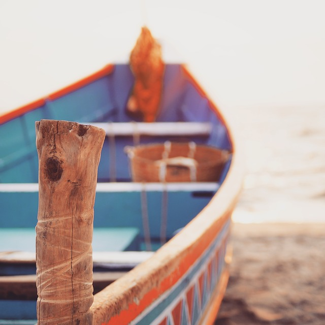 Allepey, Beach, Boat, Evening, India, Kerala, Sand