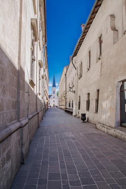 Alley, Architecture, Old Town