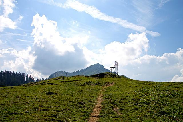 Alpine, Mountains, Allgäu, Away, Greened, Leisure