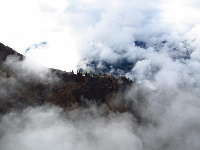 Fog, Kanzelwand, Allgäu, Mountain, Alpine