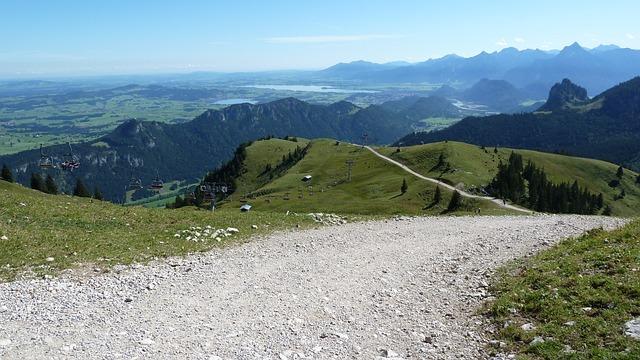 Allgäu, Breitenberg, Lake Forggensee, Füssen