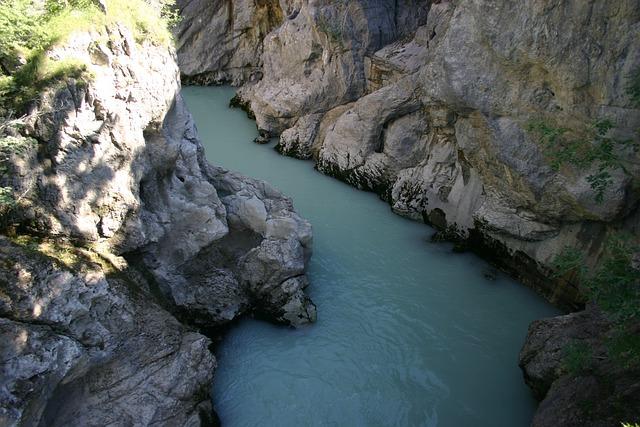 Allgäu, Lechfall, Water, Gorge, Rock