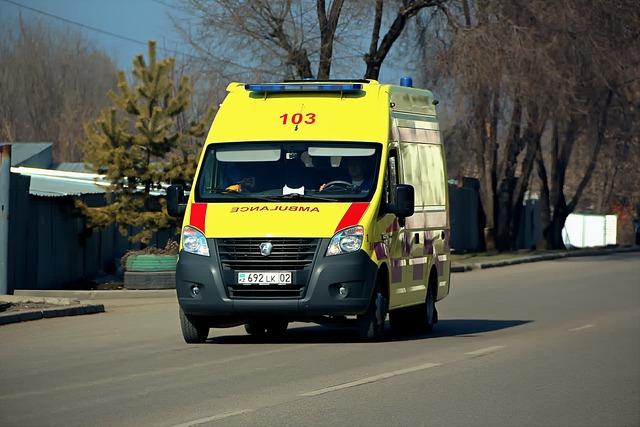Almaty, Kazakhstan, Ambulance, Emergency, Medic