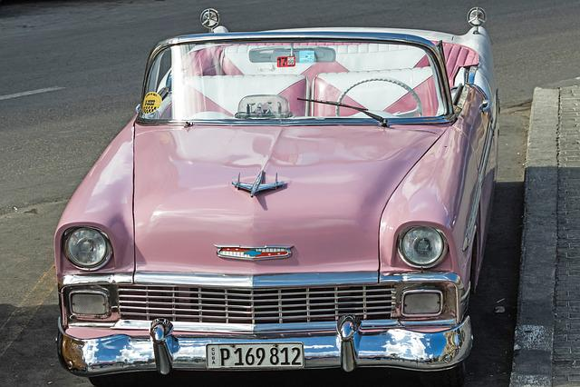 Cuba, Havana, Capitolio, Almendron, Classic, Chevy