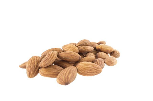 Almonds, Almond, Almond Tree Nature, Nutritious
